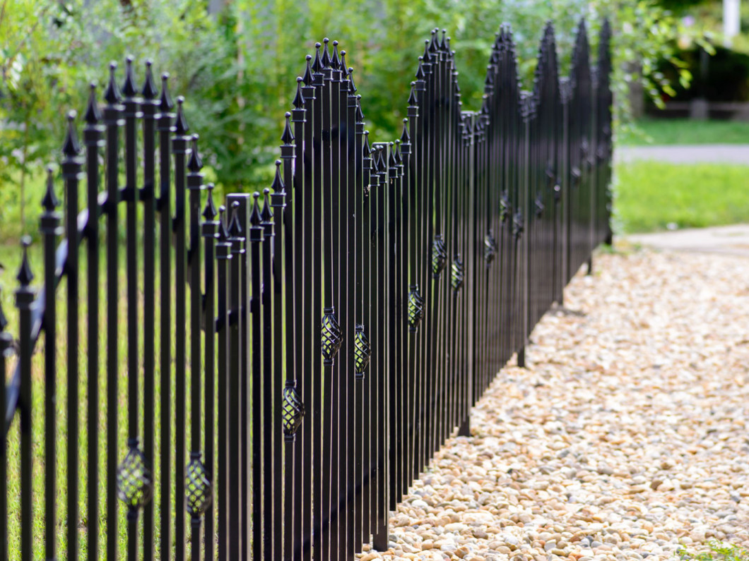 Is a rod iron fence right for your property?